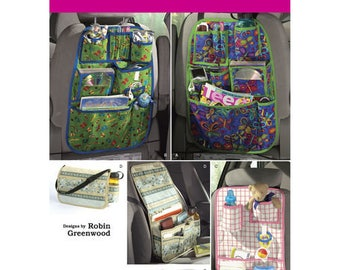 Simplicity Sewing Pattern 2916, Car Organizer Pattern, Organizer Bags, Baby Organizer, New Uncut