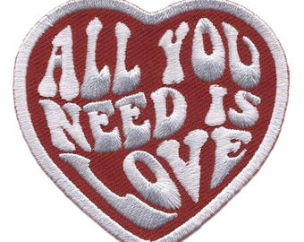 All You Need is Love Decorative Cosplay Good Feelings Patch
