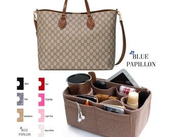 Bag Organizer for Gucci, Supreme tote bag organizer, tote bag organizers, gucci tote bag organizer, bag purse organizer, gucci insert purse