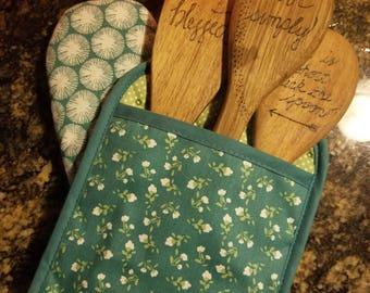 Hand crafted wooden spoons