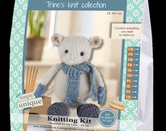 Knitting Kit Pattern Luis Luka's & Friends Collection