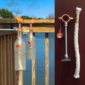 Do it yourself kits etsy four bottle tiki torches hardware only kit gifts for mom do it solutioingenieria Gallery