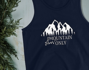 Mountain Vibes Only|Mountain T-Shirt|Colorado Shirt|Colorado T Shirt|Camping Shirt|Camping Gift|Camping Gear|Gifts for Men|Gifts for Him
