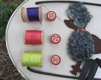"""Vintage Buttons & Silk Thread """"You Choose"""" Sewing and Craft Notions"""