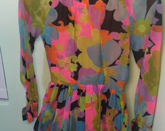 1960's style mini dress