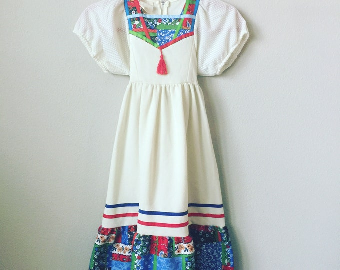 vintage toddler maxi dress