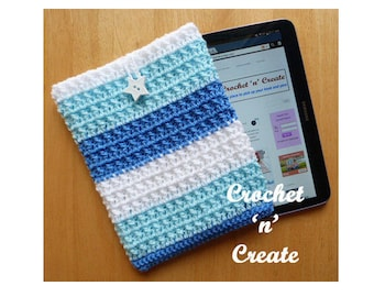 Tablet Cover Crochet Pattern (DOWNLOAD) CNC15