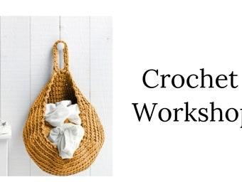 Crochet Workshop. Basket. 14 April. Magherafelt
