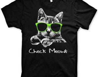 Kid's Check Meowt t-shirt youth cool cat shirts