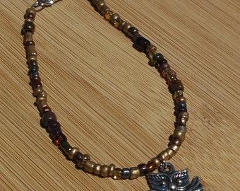 Owl Charm Bracelet, Owl Jewelry, Owl Lovers, Owl Charm, Charm Bracelet, Bird Jewelry, Animal Bracelet