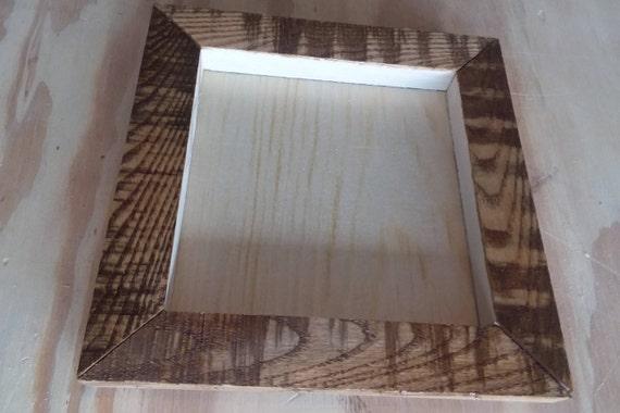 Wood Frames, Pallet Wood Frame, Rustic Wooden Frame, Unfinished ...