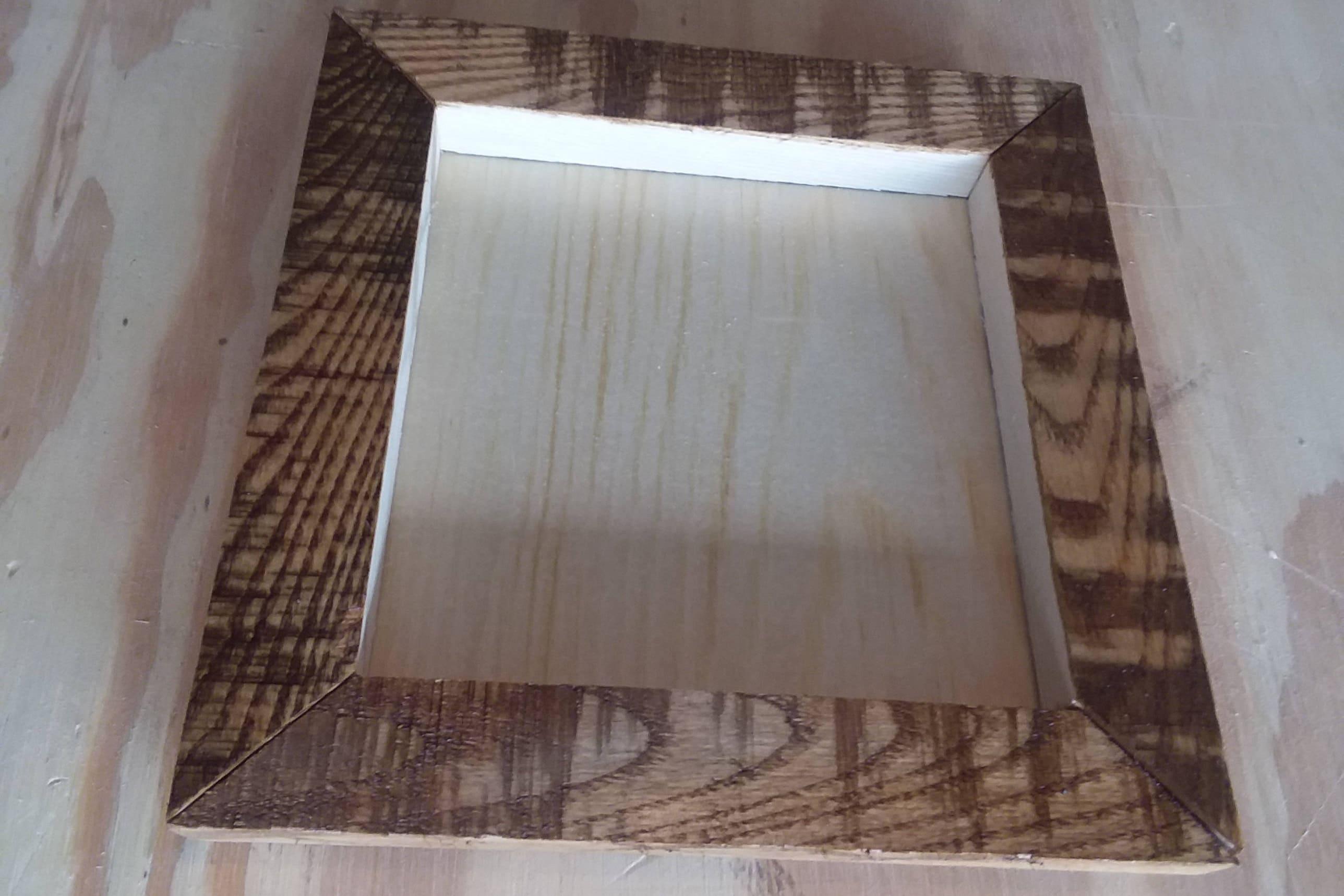 Wood Frames Pallet Wood Frame Rustic Wooden Frame