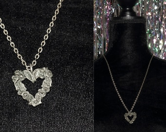 925 Silver Heart Necklace *Excellent Condition