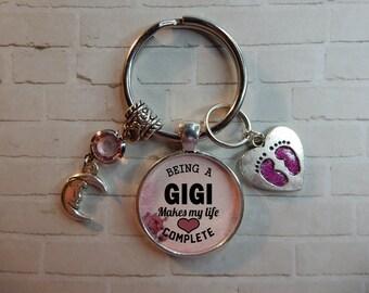 Gigi Keychain, Gigi Gift Idea, Gigi Quote, Gigi Gift, Gigi Sayings, Gigi Key Chain, Gift For Gigi, Gigi Gifts, Gigi Pendant, Gigi Quotes