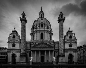 St. Charles' Church | Vienna, Austria