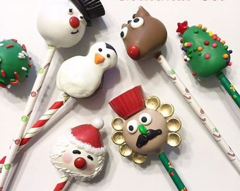 Christmas Holiday Cake Pops private listing