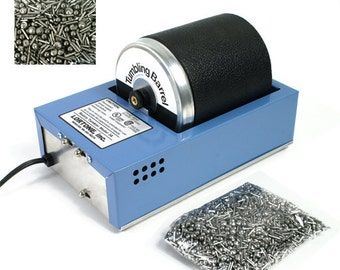 Lortone 3A Rotary Jewelry Tumbler Kit with Stainless Steel Shot - KIT-1400
