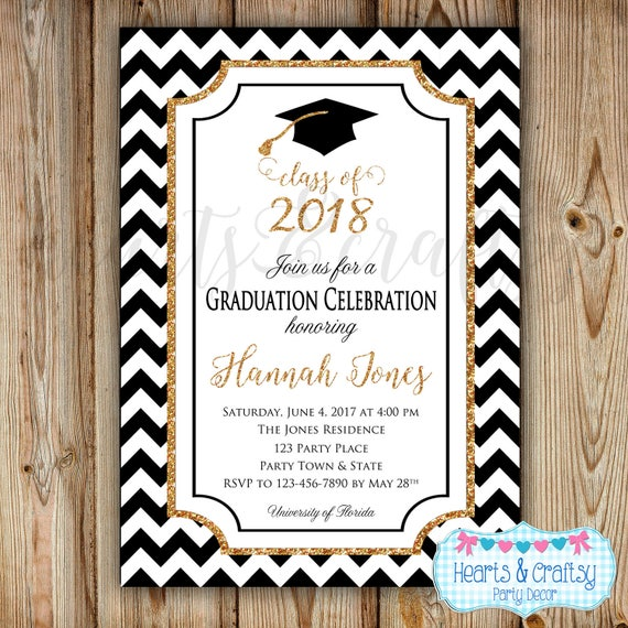 Graduation Party Invitation College Graduation Invitation