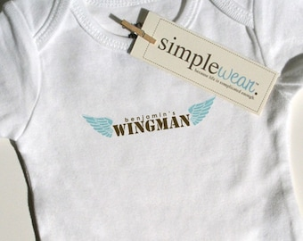 wingman baby bodysuit