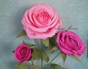 Tutoriel vidéo - Master class - rose tutoriel vidéo - Master class rose - fleur tutoriel - fleur leçon - Masterclass