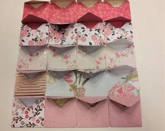 Miniature Envelopes - Handmade