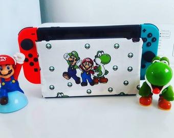 1 Nintendo switch It Up's dock sock cover sleeve screen protector New Mario yoshi luigi nes new