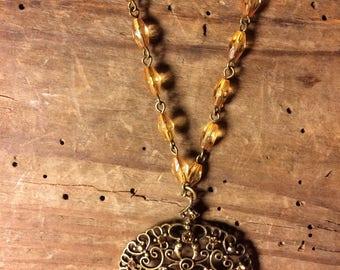 Vintage Vintage medieval inspired necklace medieval inspired necklace