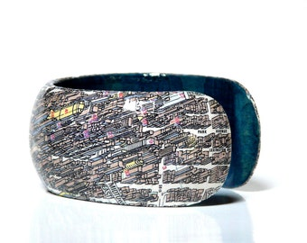 Cuff New York Manhattan Panorama City map gift wrapping gift for you