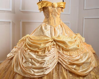Crystals Belle Costume - Beauty and the Beast - Disney Princess costume