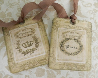 Reserved Two Gift Tags