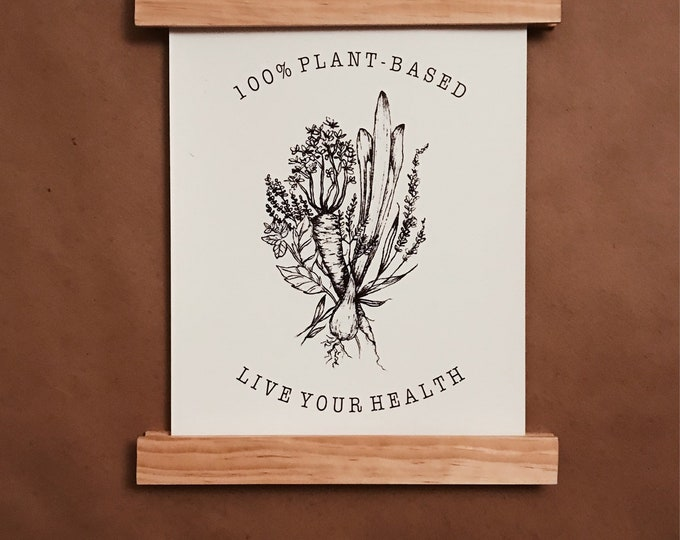 100% plant-based | live your health