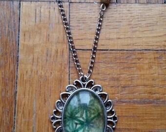 Asanoha necklace