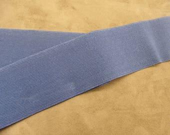 Ribbon elastic farm - 6 cm - Blue