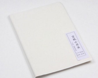 Free Shipping Chinese Calligraphy Material  35x48cm Semi-sized Practice Xuan Paper Rice / XDT - 50 Sheets - 0001SS