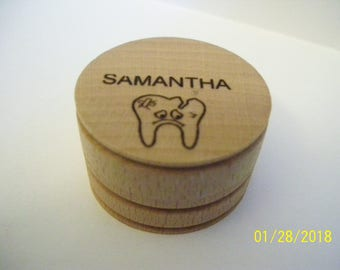 Personalized Tooth Fairy Box