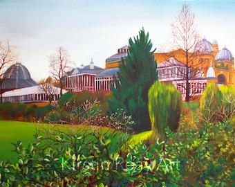 "20x16"" Giclee Print, Buxton"