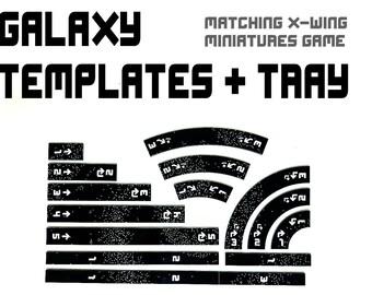 Galaxy TEMPLATE SET + TRAY