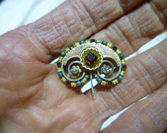 L8 Vintage Gold Filled Art Deco Pin.