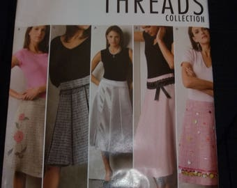 Simplicity 4496 Mises' Skirt Sewing Pattern