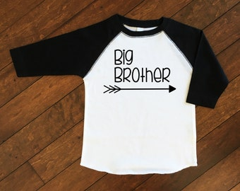 Big Brother Shirt | Pregnancy Announcement Shirt | Sibling Shirts | Little Brother Shirt | Personalized Big Brother Shirt | Big Bro Shirt