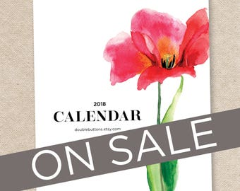 2018 Desk Calendar with stand/CD case MAYFAIR