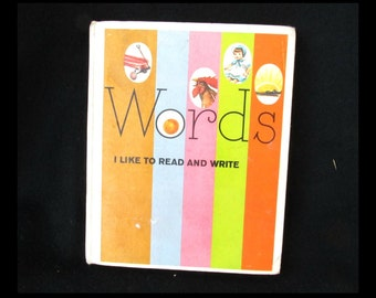 children word book - word book - school word book - vintage children book - # 45