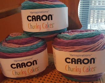 Caron Chunky Cakes Plum Perfect Yarn