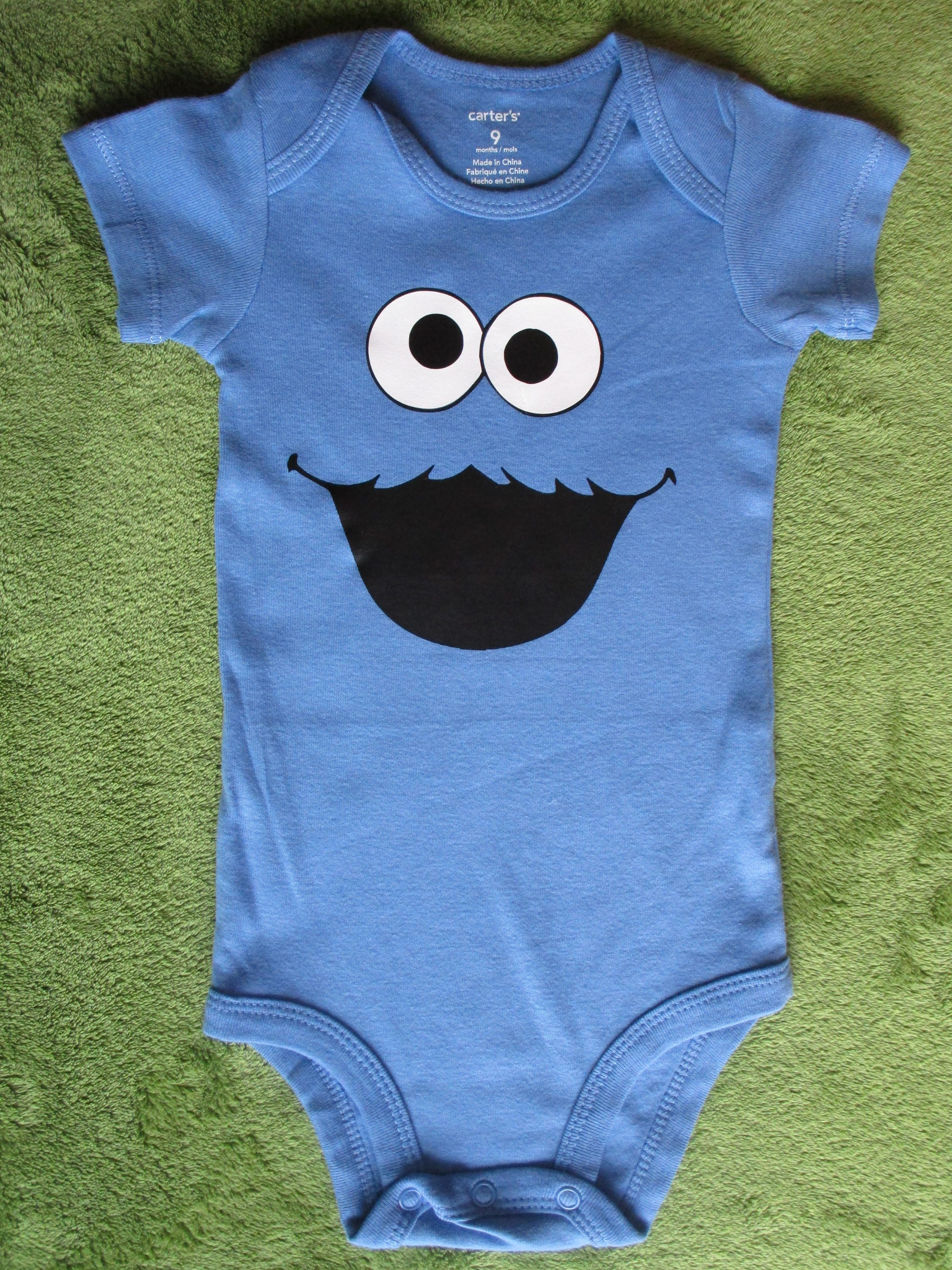 Cookie Monster Baby esie Baby Shower Gift Funny Baby