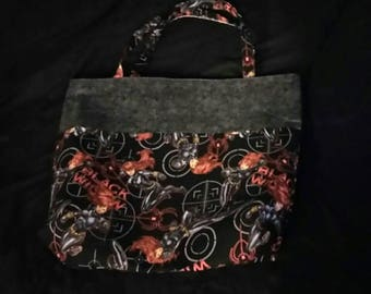 Black Widow tote bag