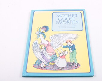 Mother Goose Favorites - Nursery Rhymes - Vintage Children's Book - Classic - Baby ~ The Pink Room ~ 161002B