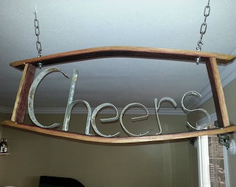 Custom Wine Barrel Sign