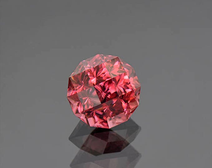 Exceptional Rose Pink Zircon Gemstone from Tanzania 9.77 cts.