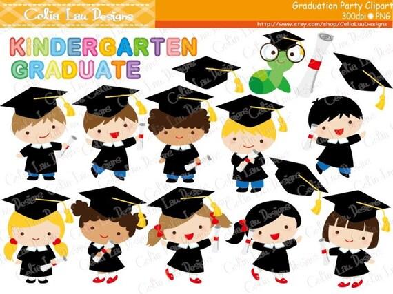 Graduation Party Clipart Graduate boys and girls Clip art