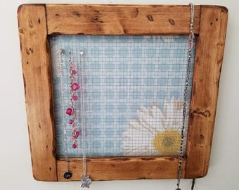 Rustic Jewelry Holder
